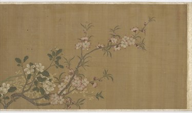 Flowers, Ming dynasty, 16th-17th century. Creator: Unknown.