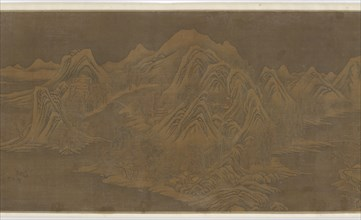 Traveling in Snowy Mountains, Ming or Qing dynasty, 17th century. Creator: Unknown.