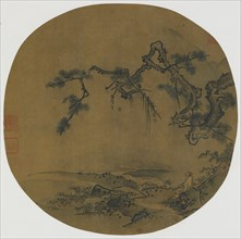 Sitting under a Pine, Ming dynasty, 15th-16th century. Creator: Unknown.