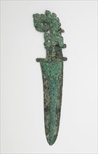 Dagger-axe (ge) with dragons, Late Shang dynasty, ca. 1300-1200 BCE. Creator: Unknown.