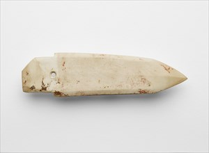 Dagger-axe (ge ?), fragment, Late Shang dynasty, ca. 1300-ca. 1050 BCE. Creator: Unknown.