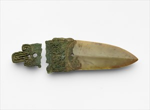 Dagger-axe (ge ?), Late Shang dynasty, ca. 1300-ca. 1050 BCE. Creator: Unknown.