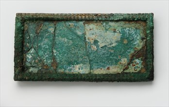 Plaque, Western Han dynasty, 2nd century B.C.E. Creator: Unknown.