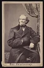 Portrait of George Scarborough, 1862-1863. Creator: Addis & Noel.