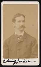 Portrait of Charles Loring Jackson (1847-1935), Circa 1887. Creator: Adolphe Braun.