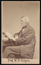Portrait of William Barton Rogers (1804-1882), Between 1866 and 1873. Creator: Edward L Allen.