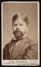 Portrait of Jerome H. Kidder (1842-1889), 1877. Creator: Alman & Co.