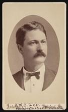 Portrait of George Washington Custis Lee (1832-1913), 1876. Creator: David H. Anderson.
