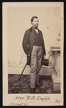 Portrait of William Hayden English (1822-1896), Before 1896. Creator: Edward Anthony.