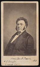 Portrait of James Alfred Pearce (1805-1862), Before 1862. Creator: Edward Anthony.