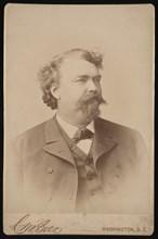 Portrait of Alexander Brown (1843-1906), Before 1893. Creator: Charles Milton Bell.