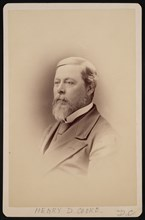 Portrait of Henry David Cooke (1825-1881), Before 1881. Creator: Charles Milton Bell.