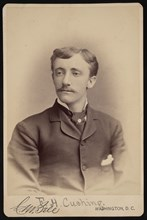 Portrait of Frank Hamilton Cushing (1857-1900), Before 1893. Creator: Charles Milton Bell.