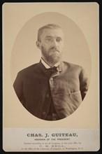Portrait of Charles Julius Guiteau (1841-1882), July 4, 1881. Creator: Charles Milton Bell.