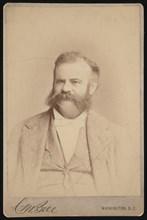 Portrait of John Wesley Powell (1834-1902), Circa 1872. Creator: Charles Milton Bell.