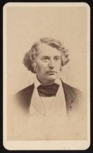 Portrait of Charles Sumner (1811-1874), Before 1874. Creator: James Wallace Black.