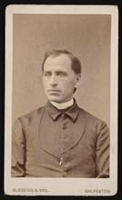 Portrait of Rev. Joseph Celestine Carrier (1833-1904), Before 1876. Creator: Blessing & Bro.