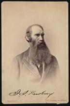 Portrait of John Strong Newberry (1822-1892), Between 1876 and 1887. Creator: Abraham Bogardus.
