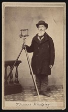 Portrait of Thomas Whelpley (1797-1881), Circa 1860s. Creator: William H Bowlsby.