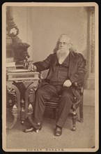 Portrait of Sidney Breese (1800-1878), Before 1878. Creator: William Emory Bowman.