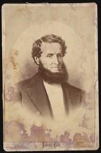 Portrait of James Lick (1796-1876), Before 1876. Creator: Bradley & Rulofson.