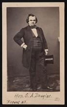 Portrait of Stephen Arnold Douglas (1813-1861), Before 1861. Creator: Mathew Brady.