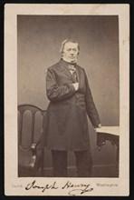 Portrait of Joseph Henry (1797-1878) - Standing, Before 1878. Creator: Mathew Brady.