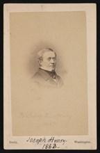 Portrait of Joseph Henry (1797-1878), 1863. Creator: Mathew Brady.