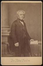 Portrait of Peter Parker (1804-1888), Before 1888. Creator: Mathew Brady.