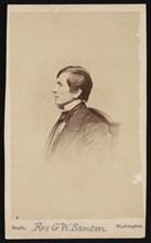 Portrait of Rev. George Whitefield Samson (1819-1896), Before 1896. Creator: Mathew Brady.