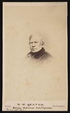 Portrait of William Winston Seaton (1785-1866), Before 1866. Creator: Mathew Brady.