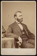 Portrait of Jacob Dolson Cox (1828-1900), Before 1900. Creator: Brady's National Photographic Portrait Galleries.