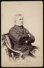 Portrait of Joseph Henry (1797-1878), Between 1868 and 1878. Creator: Brady's National Photographic Portrait Galleries.