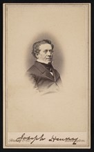 Portrait of Joseph Henry (1797-1878), Between 1858 and 1869. Creator: Brady's National Photographic Portrait Galleries.
