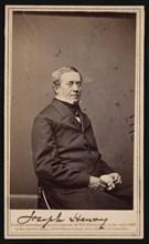 Portrait of Joseph Henry (1797-1878), 1865. Creator: Brady's National Photographic Portrait Galleries.