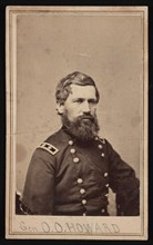 Portrait of General Oliver Otis Howard (1830-1909), Between 1862 and 1869. Creator: Brady's National Photographic Portrait Galleries.