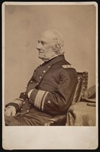 Portrait of Admiral William Branford Shubrick (1790-1874), Before 1874. Creator: Brady's National Photographic Portrait Galleries.