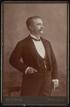 Portrait of W. Nelson Toler, Between 1890 and 1893. Creator: Brady's National Photographic Portrait Galleries.