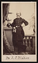Portrait of Dr. James C. Fisher, 1863. Creator: Broadbent & Co.