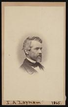 Portrait of Increase Allen Lapham (1811-1875), February 1865. Creator: Hugo Broich.