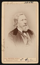 Portrait of Pierre Jean Edouard Desor (1811-1882), Before 1882. Creator: Bruder Freres.
