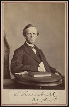Portrait of Lyman Trumbull (1813-1896), Before 1876. Creator: John Carbutt.