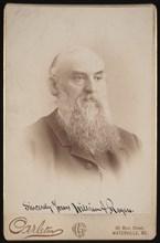 Portrait of William Augustus Rogers (1832-1898), Before 1898. Creator: Charles G Carleton.