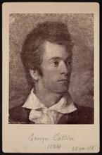 Self-Portrait of George Catlin (1796-1872), 1824. Creator: George Catlin.