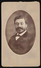 Portrait of Louis Laurent Simonin (1830-1886), Before 1876. Creator: Cayol Freres.