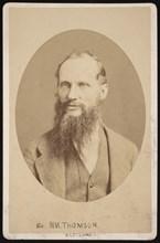 Portrait of Sir William Thomson, 1st Baron Kelvin (1824-1907), 1876. Creator: Centennial Photographic Company.