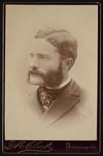 Portrait of Barton Warren Evermann (1853-1932), Before 1900. Creator: Daniel R Clark.