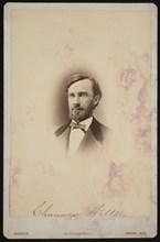 Portrait of Chauncey Wiltse (1834-1894), 1875-1876. Creator: Frank F Currier.