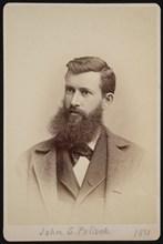 Portrait of John Symmes Pollock (1849-1924), 1881. Creator: George W. Davis.