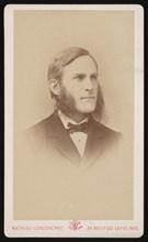 Portrait of Samuel Hubbard Scudder (1837-1911), Circa 1871. Creator: Mathieu Deroche.